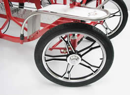 Surrey bike, Surrey cycle, 4 wheel bike, four wheel bicycle, 2 person bike, two person bicycle