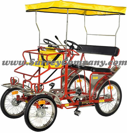 Sirenetta, Ciclofan, four wheel bike, quadricycle, 4 wheel bicycle, surrey bike